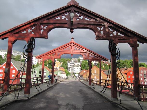 Brücke in Trondheim