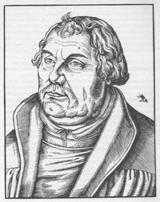 Martin Luther nach Lucas Cranach d.J.